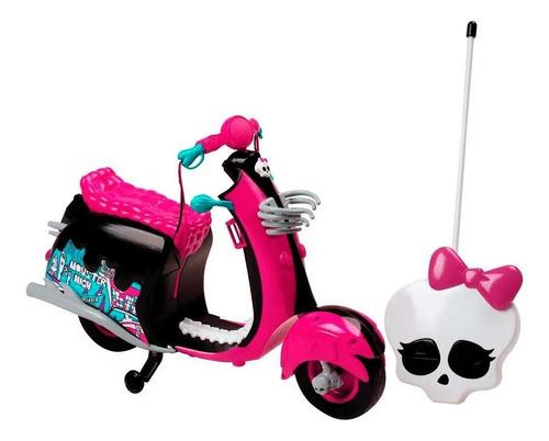Moto Da Monster High Monstercycle De Controle Remoto De Luxo