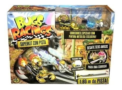 Pista De Corrida Bugs Racing Corridas Dos Insetos 1,80 Cm