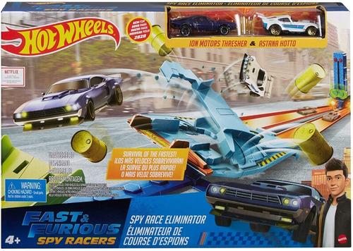 Pista De Corrida Hot Wheels Velozes E Furiosos Desafios Spy