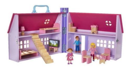 Playset E Mini Figuras - Casa De Bonecas Da Daisy - Imaginar