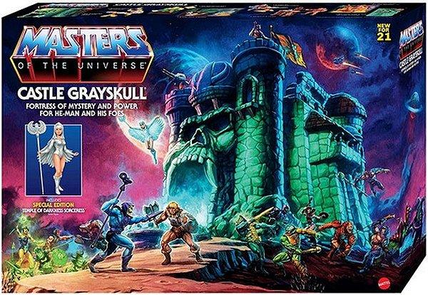 Castelo Masters Of Universe Grayskull He Man