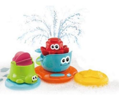 Bichinhos Brinquedo Bebe Banho Esguicho Animais Cenario 12m