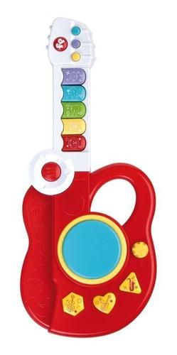 Guitarrinha 3 Em 1 Infantil Fisher Price - Piano E Bateria
