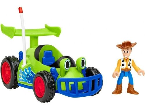 Veiculo Toy Story Woody E Rc Imaginext Pixar Disney