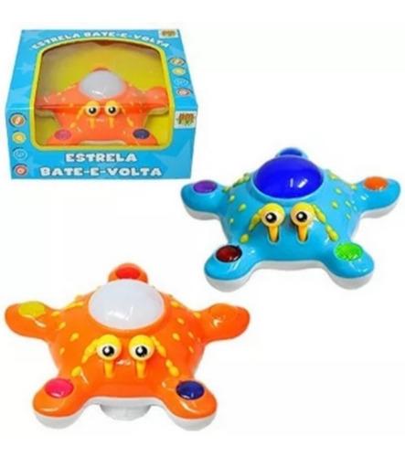 Brinquedo Estrela Lalá Bate Volta Musical Com Luz Cor Vivas