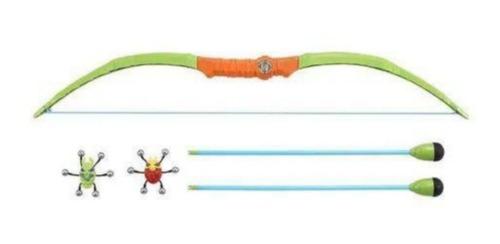 Lançador Arco E Flecha - Bug Attack Bow E Arrow + 2 Insetos