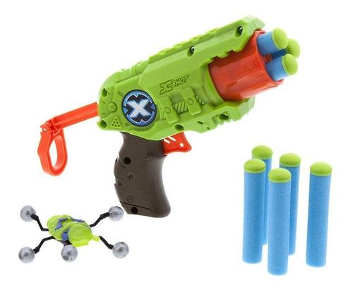 Lançador De Dardos X-shot Bug Attack Predator - Com Aranha