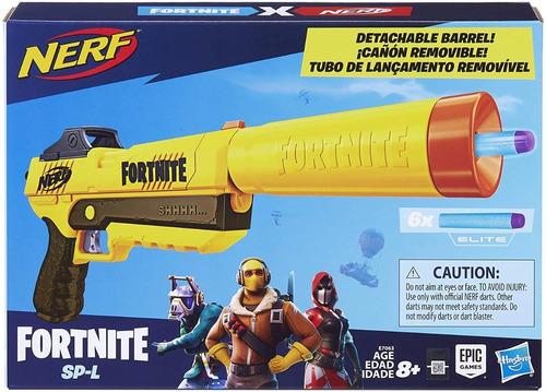 Lançador De Dardos - Nerf - Fortnite Sp-l - Elite Dart Blast