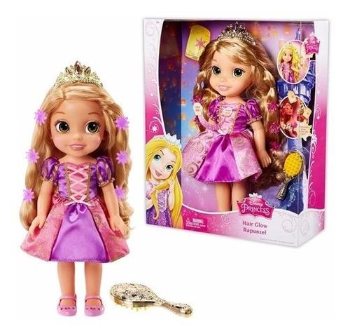 Boneca Mágica Rapunzel Disney Com Luzes E Musical 40cm Luxo