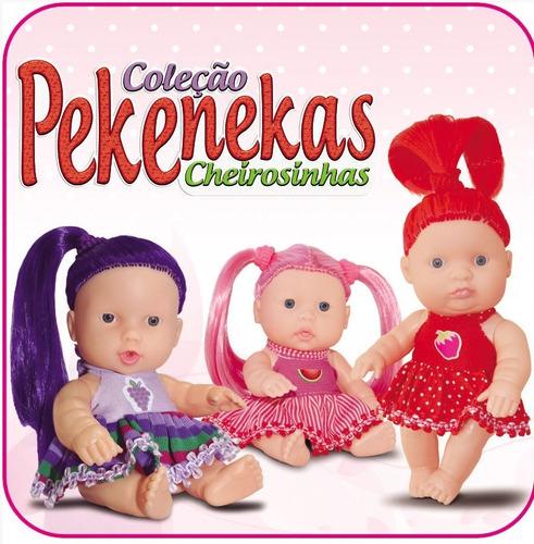Boneca Coleção Pekenekas Cheirosinhas Com Cheiro De Frutas