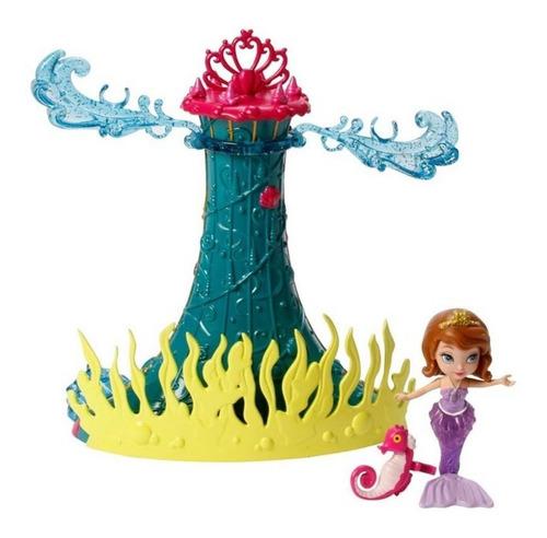 Boneca Princesa Sofia No Fundo Do Mar - Parque Submarino