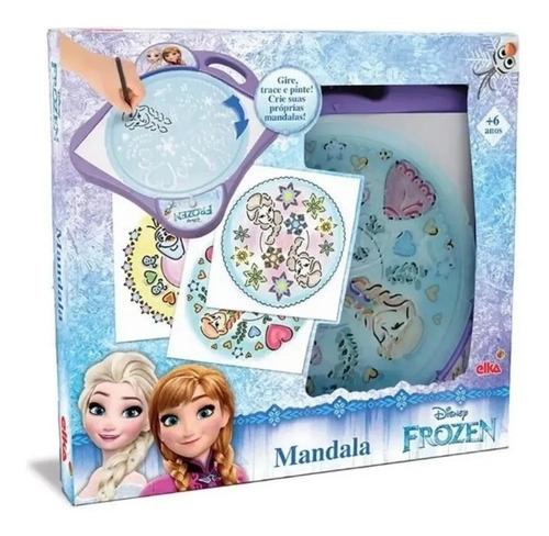 Kit Mandala Princesas Frozen Elsa E Anna Gire Trace E Pinte