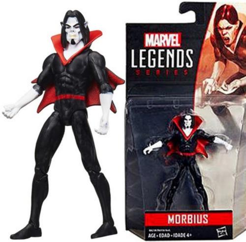 Boneco Marvel Legends 11 Cm Morbius Articulados Em 12 Pontos