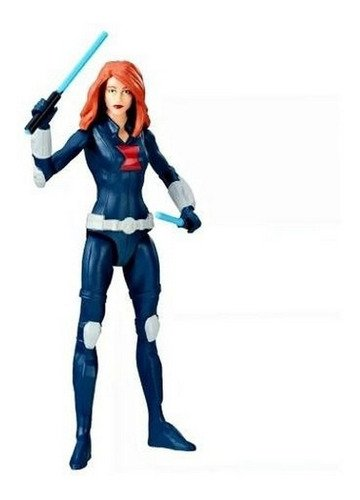 Boneca Viuva Negra 15cm - Black Widow Marvel Vingadores