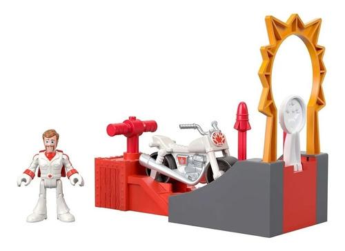 Toy Story - Boneco E Moto Duke Caboom - Imaginext Disney