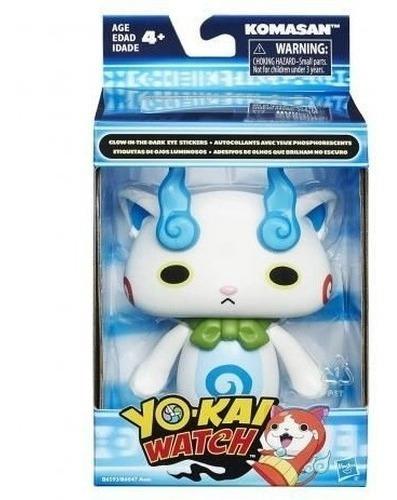 Boneco Yo-kai Watch - Komasan Azul - Lindo E Fofo Promoção