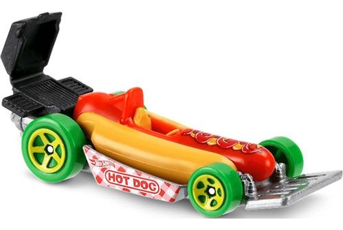 Carrinho Hot Wheels - Caminhão Street Wiener - Hot Dog