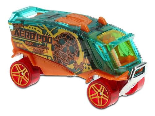 Carrinho Hot Wheels - Aero Pod - Camião Com Caveira