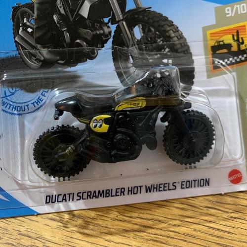 Carrinho Hot Wheels - Moto - Ducati Scrambler Hw Edition