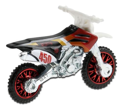 Carrinho Hot Wheels - Moto - Cross - Hw450f - Ghf88