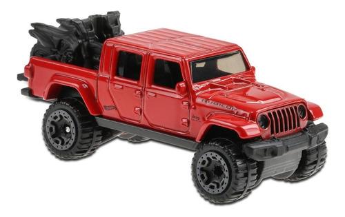 Carrinho Hot Wheels - 20 Jeep Gladiator - Ghb41 - Vermelho