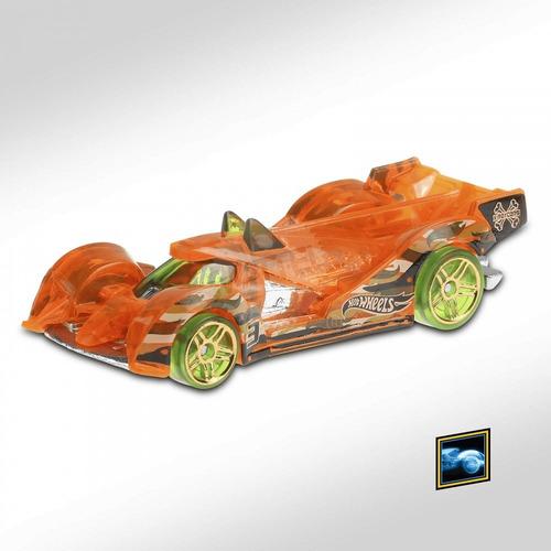 Carrinho Hot Wheels - Hi-tech Missile - Ghf30 - Laranja