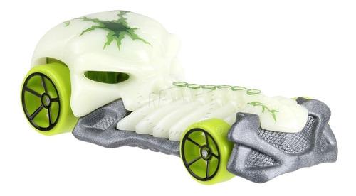 Carrinho Hot Wheels Turtoshell - Skull Crusher Caveira Verde
