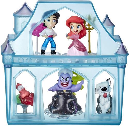 Playset E Mini Bonecas Disney Princesas Castelo Da Ariel