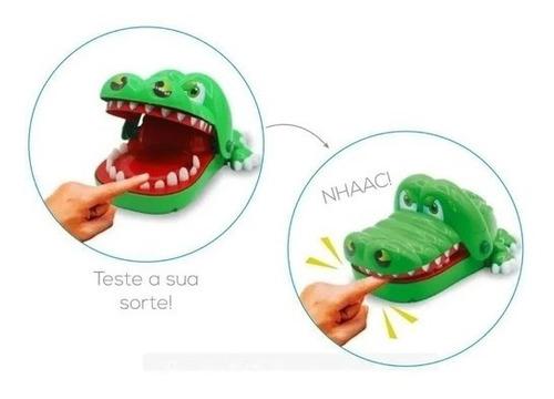 Mordida Do Jacaré Brinquedo Infantil Pegadinha Teste Você