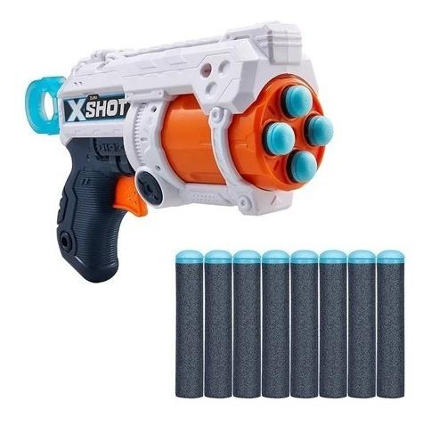Arminha Lançador De Dardos X-shot Fury 4 - 27 Metros Azul