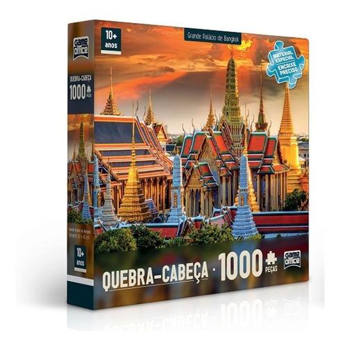 Puzzle Quebra Cabeça 1000 Peças Grande Palácio de Bangkok