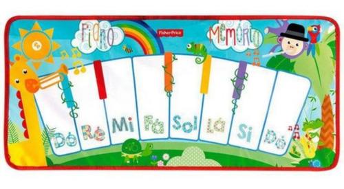 Tapete Musical Piano Educativo Fisher Price - 8 Melodias