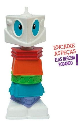 Robotz - Monte Seu Robô, Elka, Colorido Brinquedo Educaciona