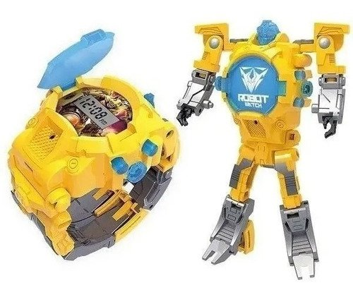 Robot Watch - Relógio Digital Robô (multikids) - Amarelo