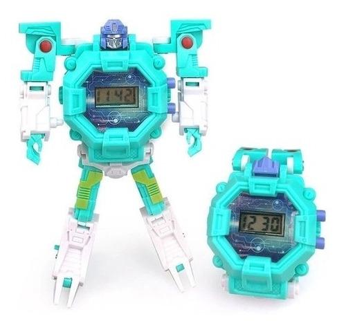 Robot Watch - Relógio Digital Robô (multikids) - Verde