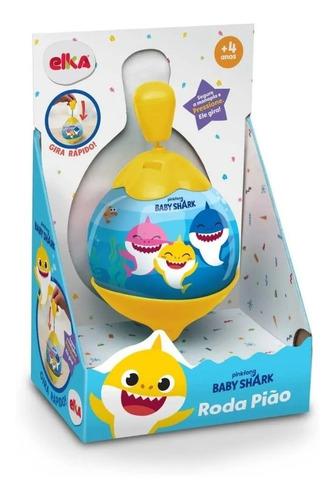 Brinquedo Diverso Baby Shark Roda Pião