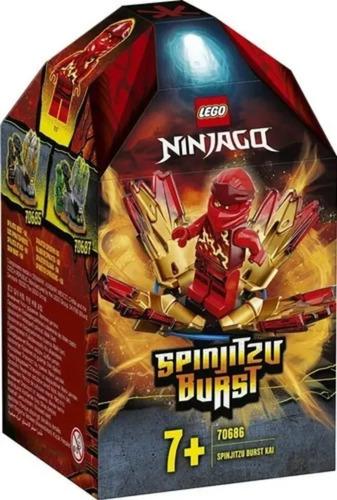 Lego Ninjago Rajada De Spinjitzu 48 Peças 70686