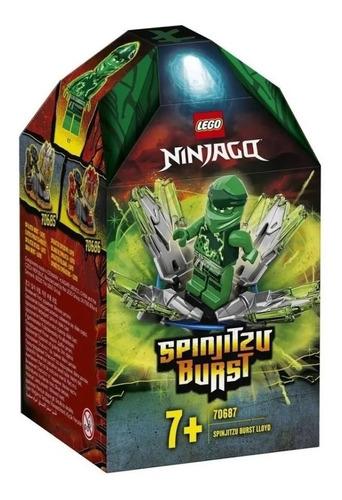 Lego Ninjago Rajada De Spinjitzu 48 Peças 70687