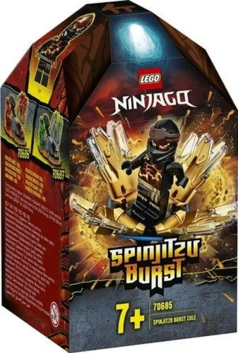 Lego Ninjago Rajada De Spinjitzu 48 Peças 70685