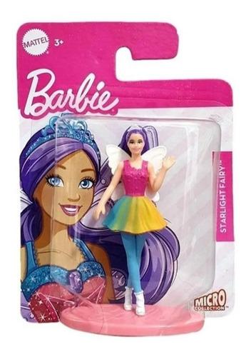 Boneca Barbie Mini Dreamtopia Fada Sereia Fada Roxa