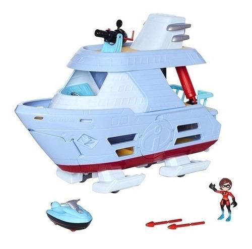 Barco Hydroliner Os Incríveis 2 Com Mulher Elástica 50 Cm