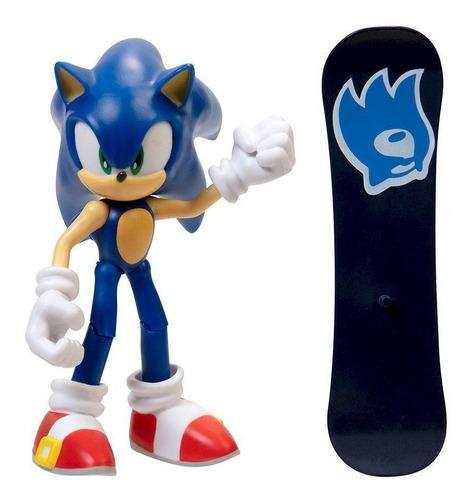 Boneco Sonic The Hedgehog Articulado Sonic