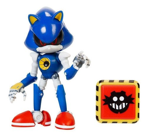 Boneco Sonic The Hedgehog Articulado Sonic Robo