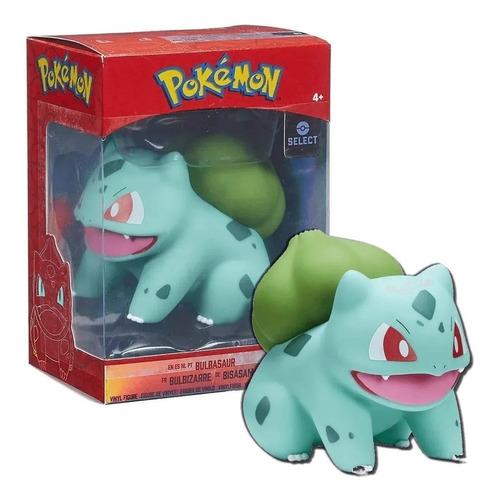 Boneco Pokémon Bulbassauro De Vinil 10 Cm Sunny