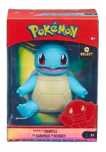 Figura Squirtle Pokémon Select #s1 Em Vinilo 4 Poll Origina
