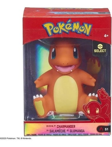Pokémon Figura De Vinil Charmander 10cm Wct - Sunny