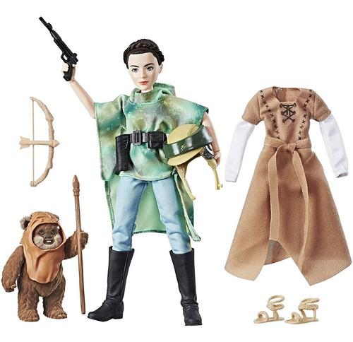 Boneca Star Wars Forças Do Destino Princesa Leia E Wicket