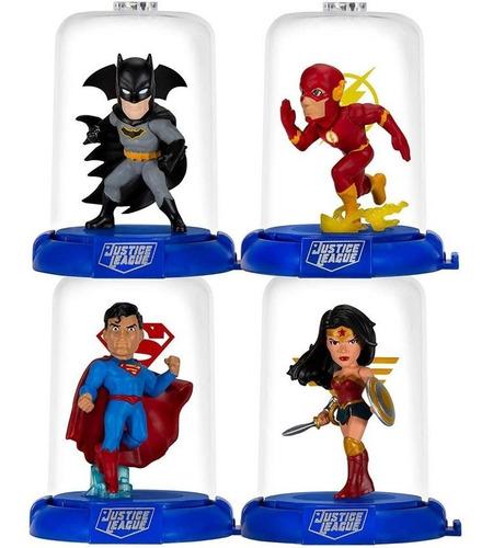 Mini Figura Domez Avengers Vingadores Liga Da Justiça