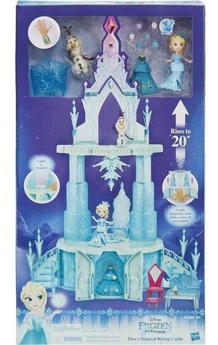Conjunto Frozen Mini Castelo Mágico Hasbro