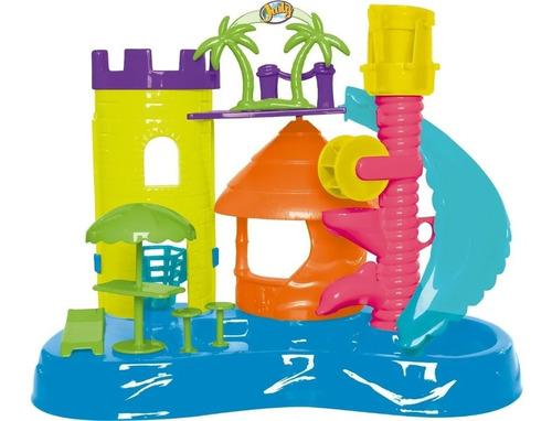 Parque Aquático Da Judy Completo Com Tobogã E Boneca